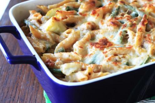 Pasta al forno broccoli e salsiccia | le ricette di petalina